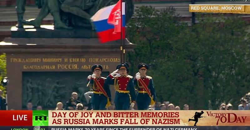 Những hình ảnh ấn tượng nhất tại Lễ duyệt binh Nga 9/5/2015 - ảnh 2