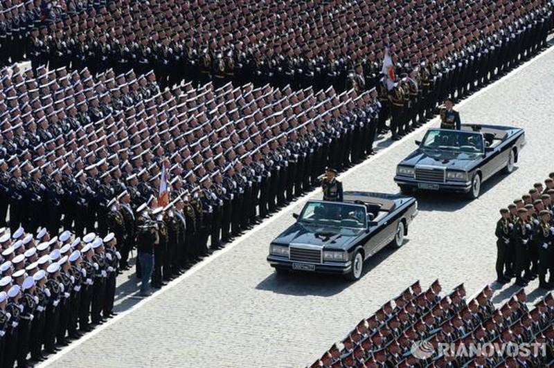 Những hình ảnh ấn tượng nhất tại Lễ duyệt binh Nga 9/5/2015 - ảnh 3