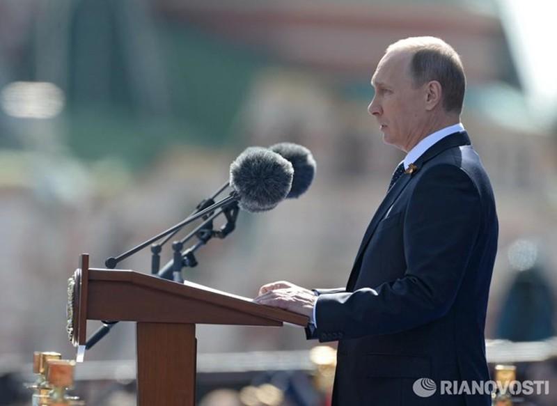 Những hình ảnh ấn tượng nhất tại Lễ duyệt binh Nga 9/5/2015 - ảnh 4