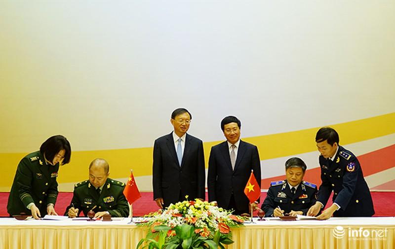 Việt Nam - Trung Quốc ký kết hợp tác an ninh trên biển - ảnh 1