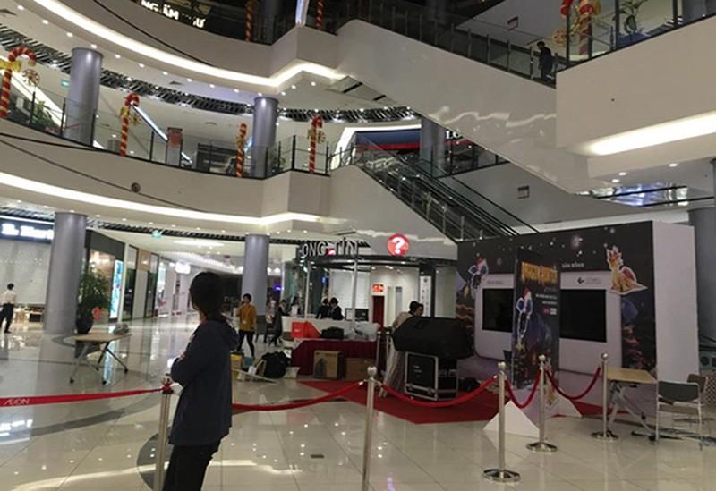 Sự cố cháy ở Aeon Mall Long Biên: Một số gian hàng dừng hoạt động - ảnh 1