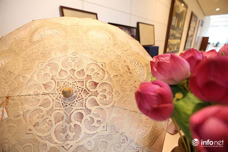Sản phẩm trúc chỉ Việt Nam thu hút sự chú ý của đại biểu dự APEC - ảnh 3