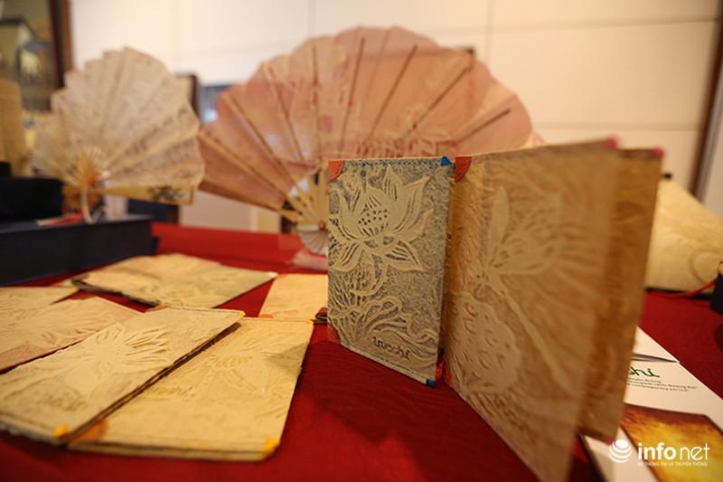 Sản phẩm trúc chỉ Việt Nam thu hút sự chú ý của đại biểu dự APEC - ảnh 6