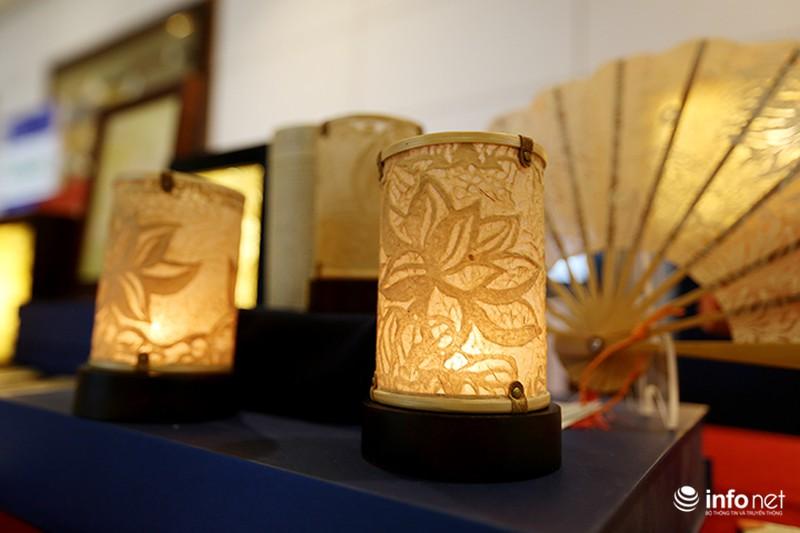 Sản phẩm trúc chỉ Việt Nam thu hút sự chú ý của đại biểu dự APEC - ảnh 8