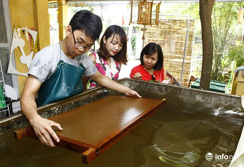 Sản phẩm trúc chỉ Việt Nam thu hút sự chú ý của đại biểu dự APEC - ảnh 10