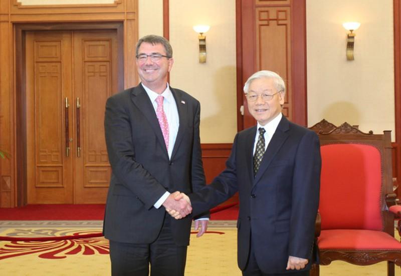 Hình ảnh toàn cảnh Bộ trưởng Quốc phòng Hoa Kỳ thăm Việt Nam - ảnh 12