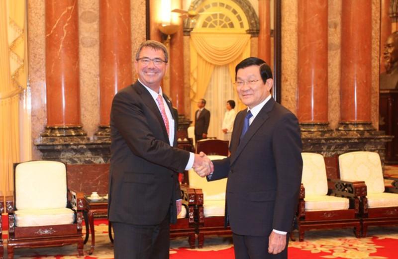 Hình ảnh toàn cảnh Bộ trưởng Quốc phòng Hoa Kỳ thăm Việt Nam - ảnh 11