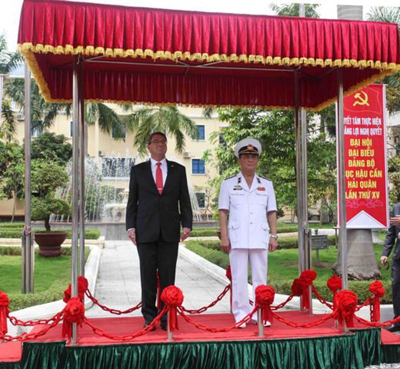 Hình ảnh toàn cảnh Bộ trưởng Quốc phòng Hoa Kỳ thăm Việt Nam - ảnh 14