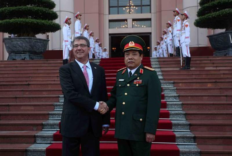 Hình ảnh toàn cảnh Bộ trưởng Quốc phòng Hoa Kỳ thăm Việt Nam - ảnh 4