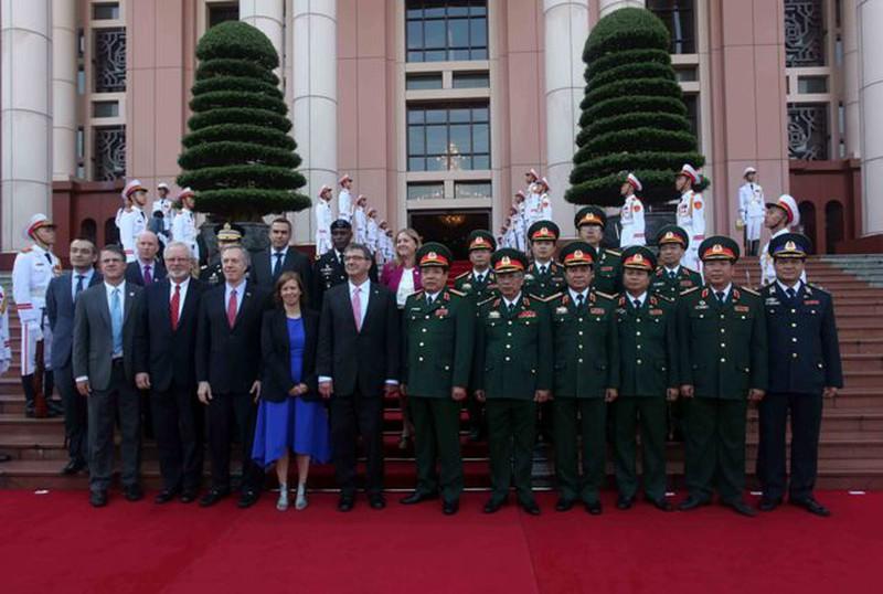 Hình ảnh toàn cảnh Bộ trưởng Quốc phòng Hoa Kỳ thăm Việt Nam - ảnh 6