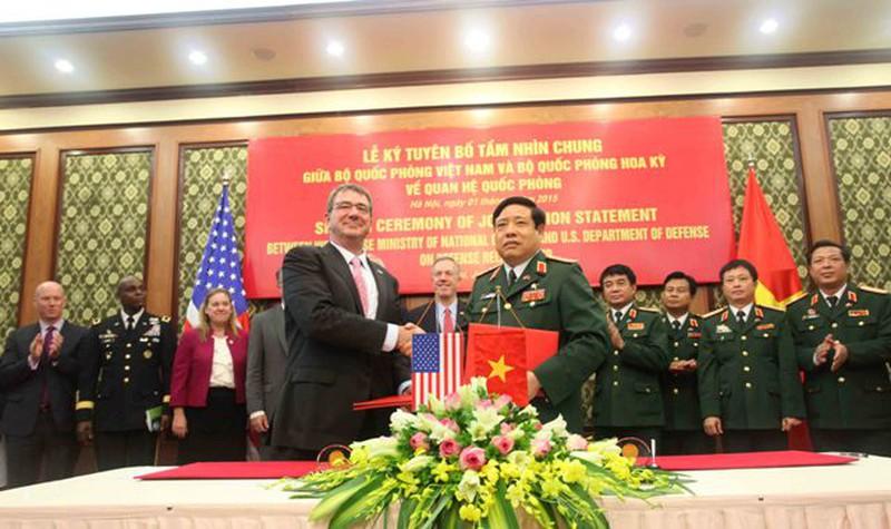 Hình ảnh toàn cảnh Bộ trưởng Quốc phòng Hoa Kỳ thăm Việt Nam - ảnh 7