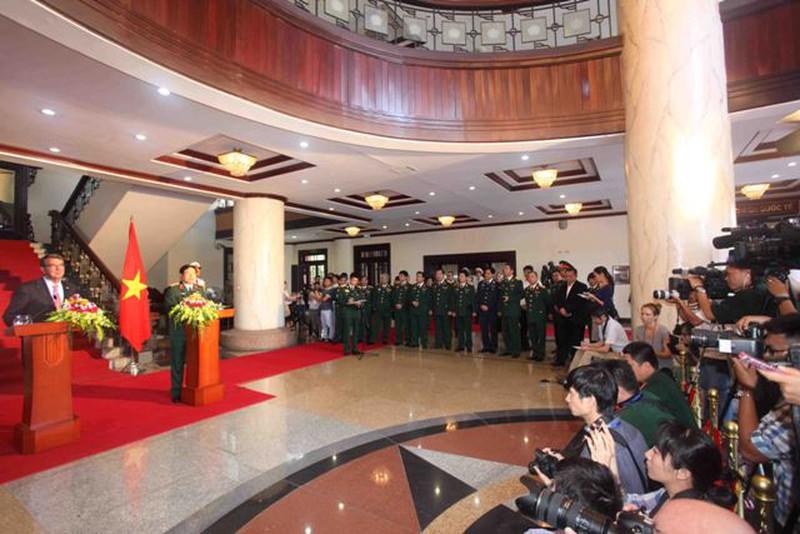 Hình ảnh toàn cảnh Bộ trưởng Quốc phòng Hoa Kỳ thăm Việt Nam - ảnh 8