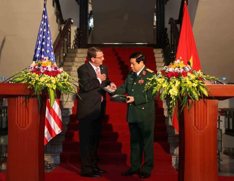 Hình ảnh toàn cảnh Bộ trưởng Quốc phòng Hoa Kỳ thăm Việt Nam - ảnh 9