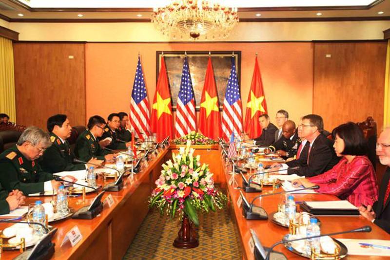 Hình ảnh toàn cảnh Bộ trưởng Quốc phòng Hoa Kỳ thăm Việt Nam - ảnh 5