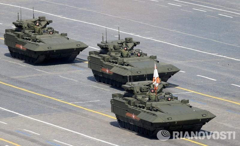 Xem Nga khoe dàn vũ khí khủng trong lễ kỷ niệm Ngày Chiến thắng 9/5 - ảnh 13