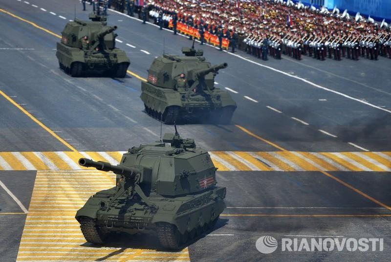 Xem Nga khoe dàn vũ khí khủng trong lễ kỷ niệm Ngày Chiến thắng 9/5 - ảnh 14