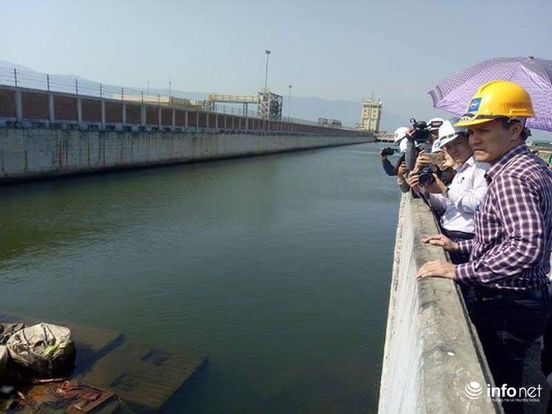 Những hình ảnh mới nhất về hệ thống xả thải của Formosa - ảnh 5