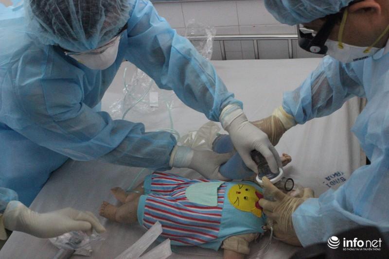 Tình huống khẩn cấp tại Bệnh viện Nhi đồng 1 khi có bệnh nhân MERS - CoV - ảnh 5