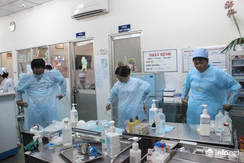Tình huống khẩn cấp tại Bệnh viện Nhi đồng 1 khi có bệnh nhân MERS - CoV - ảnh 2