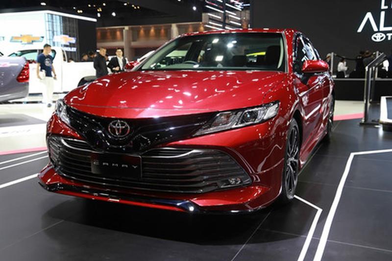 Chi tiet Toyota Camry 2019 sap ra mat tai VN hinh anh 10