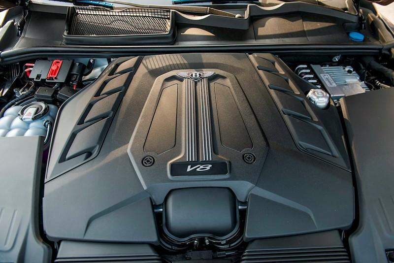 Cận cảnh Bentley Bentayga V8 màu hiếm Century Gold xuất hiện ở Việt Nam - ảnh 9