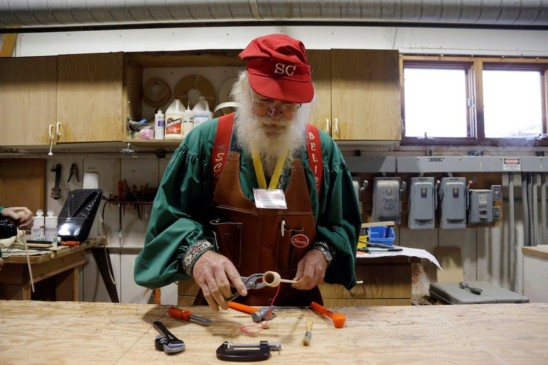 Muốn làm Santa Claus cũng phải học - ảnh 5