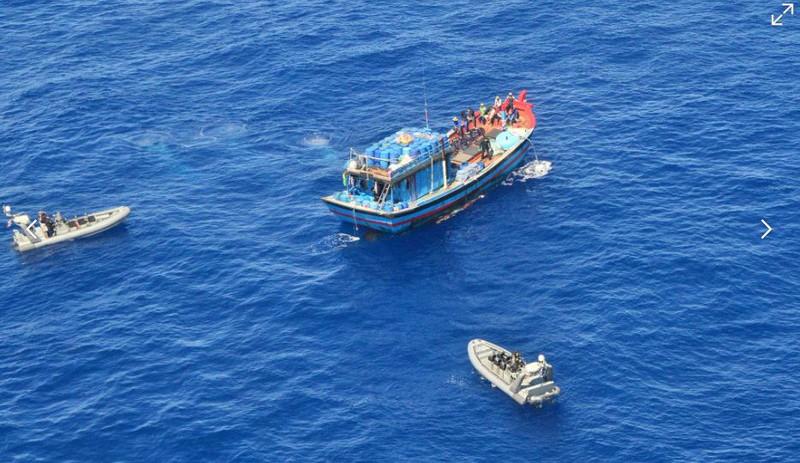 Ảnh: 15 ngư dân Việt Nam bị bắt vì đánh bắt trái phép ở Australia - ảnh 13