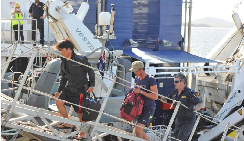Ảnh: 15 ngư dân Việt Nam bị bắt vì đánh bắt trái phép ở Australia - ảnh 8