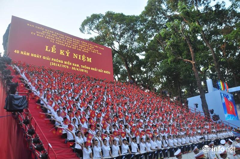 Toàn cảnh lễ Diễu binh chào mừng 40 năm Thống nhất đất nước (30/4/2015) - ảnh 1