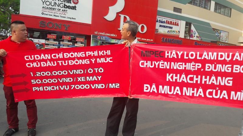 """Chủ đầu tư đơn phương áp phí """"cắt cổ"""", cư dân Mipec Long Biên dàn hàng phản ứng - ảnh 4"""
