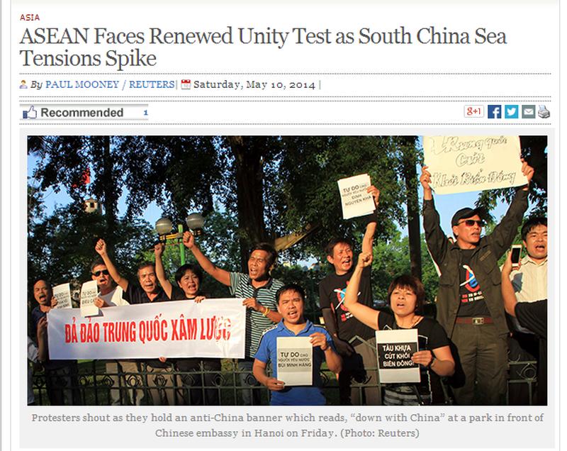 Việt Nam tuần hành hòa bình phản đối Trung Quốc lên báo chí quốc tế - ảnh 8