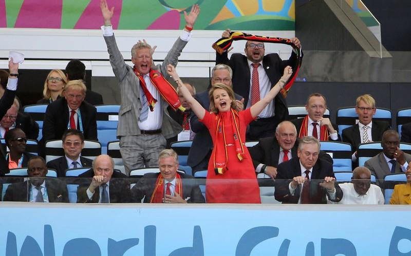 Các nguyên thủ quốc gia cũng 'phát cuồng' vì World Cup - ảnh 3