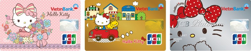 Ra mắt thẻ tín dụng đồng thương hiệu VietinBank - Hello Kitty - JCB - ảnh 1
