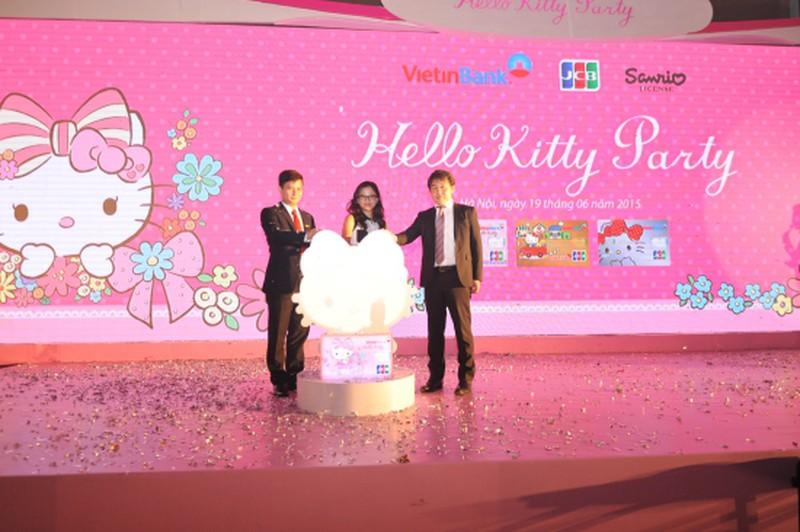 Ra mắt thẻ tín dụng đồng thương hiệu VietinBank - Hello Kitty - JCB - ảnh 2