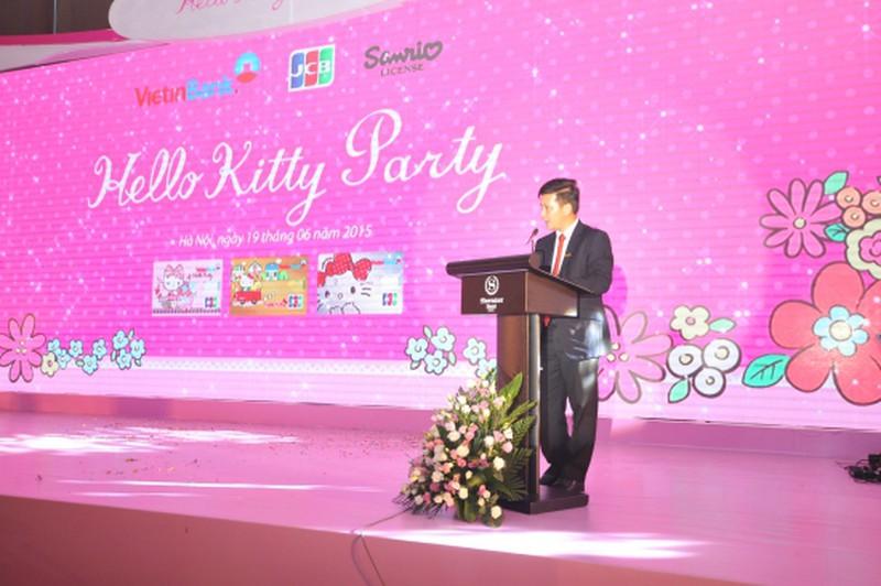 Ra mắt thẻ tín dụng đồng thương hiệu VietinBank - Hello Kitty - JCB - ảnh 3
