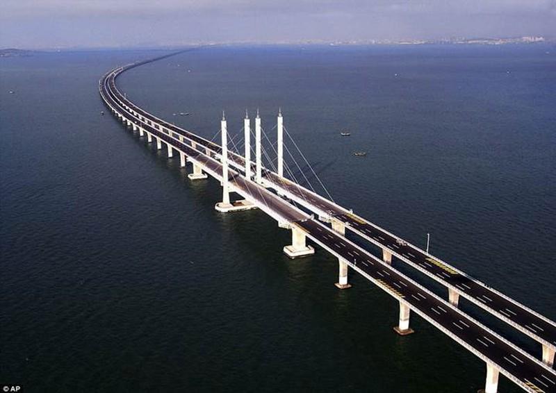 Mỏi mắt với 10 cây cầu dài nhất thế giới - ảnh 1