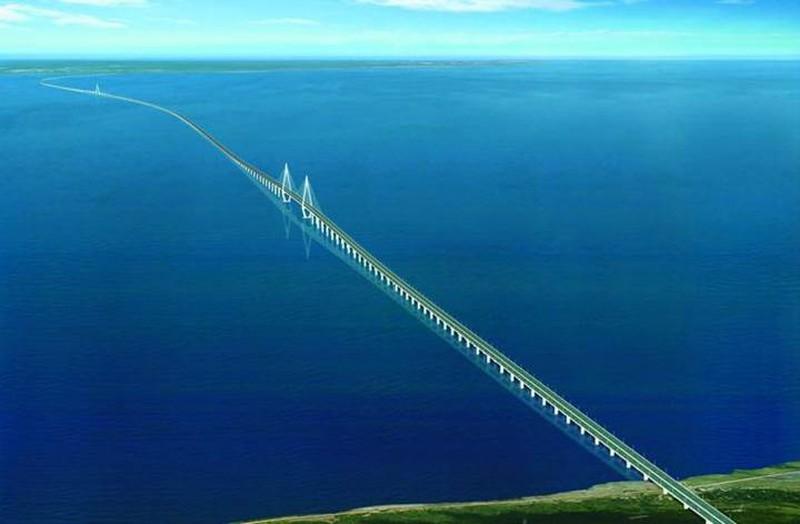 Mỏi mắt với 10 cây cầu dài nhất thế giới - ảnh 9