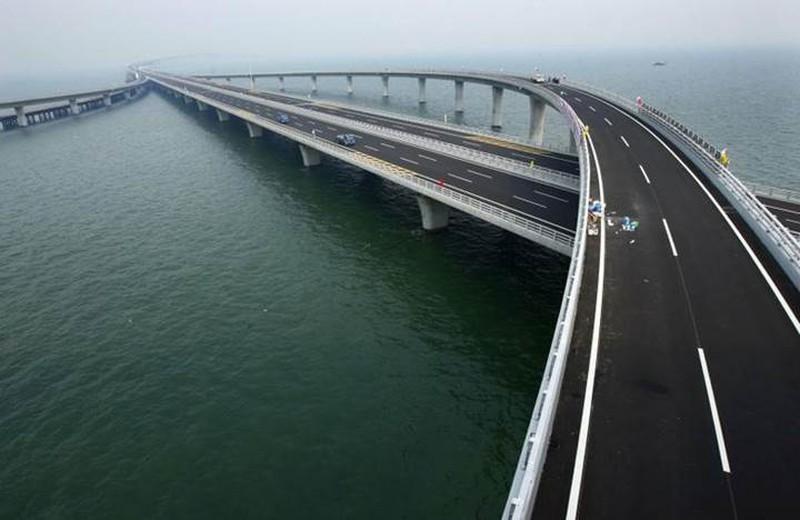 Mỏi mắt với 10 cây cầu dài nhất thế giới - ảnh 3