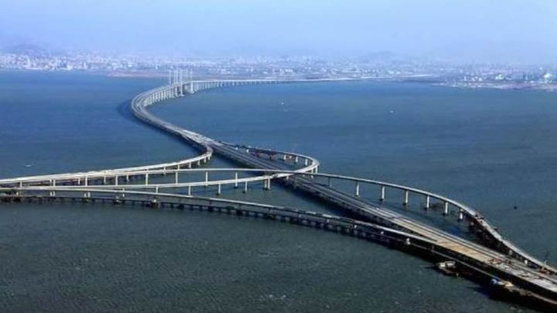 Mỏi mắt với 10 cây cầu dài nhất thế giới - ảnh 5