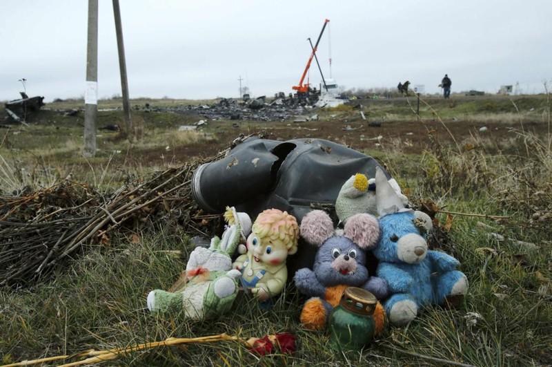 Những gì còn sót lại của chuyến bay định mệnh MH17 - ảnh 14