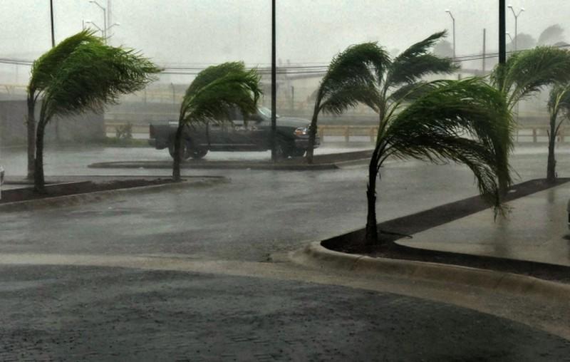 Những hình ảnh đầu tiên về siêu bão Patricia đổ bộ vào Mexico - ảnh 1