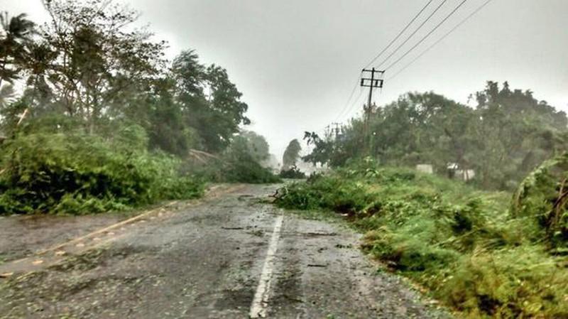 Những hình ảnh đầu tiên về siêu bão Patricia đổ bộ vào Mexico - ảnh 2