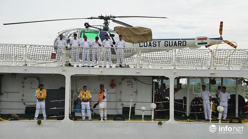 Tàu tuần duyên hơn 2.000 tấn của Ấn Độ tới thăm TP.HCM - ảnh 3