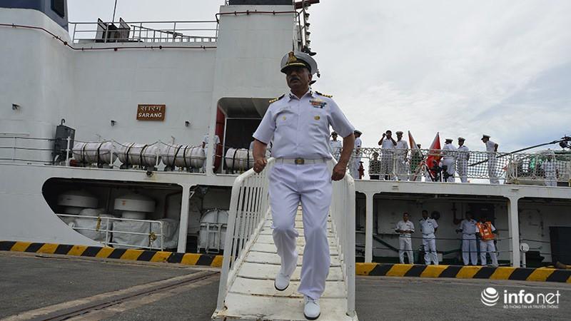 Tàu tuần duyên hơn 2.000 tấn của Ấn Độ tới thăm TP.HCM - ảnh 5