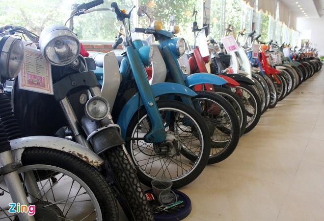 Khám phá bộ sưu tập hàng trăm chiếc xe máy cổ tại Sài Gòn - ảnh 8