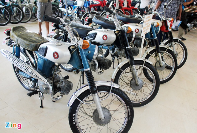 Khám phá bộ sưu tập hàng trăm chiếc xe máy cổ tại Sài Gòn - ảnh 6