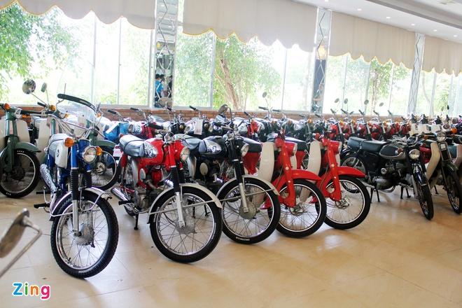 Khám phá bộ sưu tập hàng trăm chiếc xe máy cổ tại Sài Gòn - ảnh 5