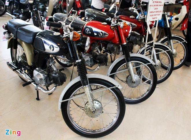 Khám phá bộ sưu tập hàng trăm chiếc xe máy cổ tại Sài Gòn - ảnh 12