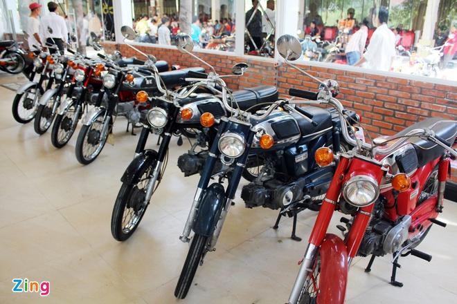 Khám phá bộ sưu tập hàng trăm chiếc xe máy cổ tại Sài Gòn - ảnh 13
