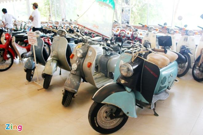 Khám phá bộ sưu tập hàng trăm chiếc xe máy cổ tại Sài Gòn - ảnh 3